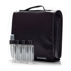 $ 44.99 Toiletry Bag with Travel Bottles and Removable Pouch for Easy Checkin at the Airport Black >>> AMAZON Great Sale