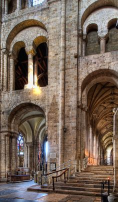Eleventh century Winchester Cathedral Romanesque Architecture, Church Architecture, Amazing Architecture, Templer, Fantasy Places, Cathedral Church, Place Of Worship, Beautiful Buildings, Adventure Is Out There