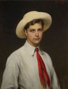 Eugene De Blaas | Eugene de Blaas - Portrait of the Artist's Son