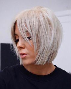 50 Cute Short Haircuts And Styles Women 2019 bobhair BobHairstyles Hair haircuts Hairstyles Pixie pixiecut pixiehair ShortHaircuts shorthairstyles Short Hairstyles Hairstyles 2019 Bobhaircut 362047257546610418 Cute Bob Hairstyles, Popular Short Hairstyles, Cute Short Haircuts, Layered Bob Hairstyles, Trending Hairstyles, Short Hairstyles For Thin Hair, Short Blonde Haircuts, Hairstyle Ideas, Hairdos
