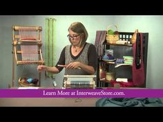 ▶ Preview Life After Warping: Weaving Well on Your Rigid-Heddle Loom with Liz Gipson - YouTube