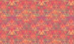 blurry triangle pattern