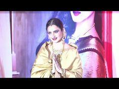 Rekha at 3rd National Yash Chopra Memorial Awards 2016.