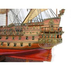 San Felipe Xl, Tall Ship Model tern   #modelship #boatmodel