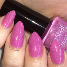 Pink Lady Margarita Top Shelf Lacquer With flash