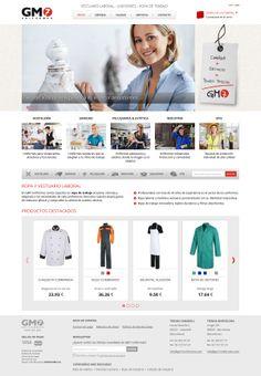 Gm7uniformes.com es la #tienda online de una empresa de #vestuarioprofesional con tiendas físicas en Barcelona y Sabadell.  La #web #shop dispone de un amplio catálogo de productos completamente autoadministrable por el cliente. Destaca por su sistema de previsualización de colores en el listado de productos, que mejora el proceso de compra