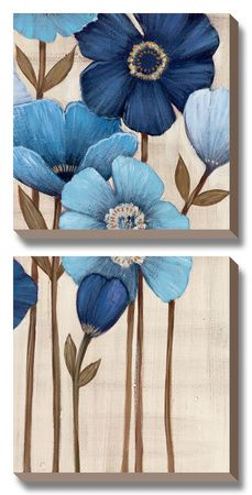 Painting tutorial canvas pictures 65 new Ideas Canvas Painting Tutorials, Diy Canvas Art, Diy Painting, Painting Canvas, Acrylic Tutorials, Canvas Ideas, 5 Piece Canvas Art, Acrylic Painting Flowers, Painted Flowers