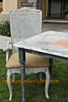 How to do a Faux Rust finish with CeCe Caldwell's paints. Check out my full tutorial on how to get rusty.  REDOUXINTERIORS.COM FACEBOOK: REDOUX #cececaldwellspaints #cececaldwells #cecececaldwellspittsburggrey #cececaldwellsdoverwhite #fauxrustfinish