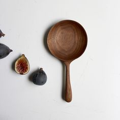 Walnut Serving Spoon Hand-Carved by Ariel Alasko - AMAZING! (via All Sorts of Pretty)