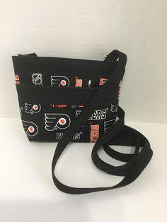 fe9440cdbf0b Philadelphia Flyers crossbody bag. Show your team spirit everywhere you go!  Makes a great