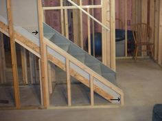open staircase basement ideas and basement bars on pinterest