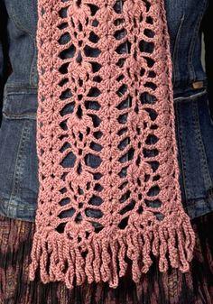 crochet scarf by SueZB
