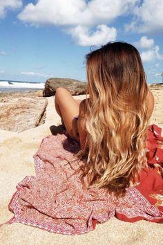 hairstyles for long hair with bangs Long Hair With Bangs, Long Curly Hair, Curly Hair Styles, Mermaid Hair, Beach Hair, Brunette Hair, Hairstyles With Bangs, Ombre Hair, Prom Hair