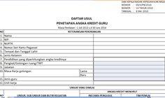 Download Aplikasi Administrasi Dupak Terbaru Format Excel