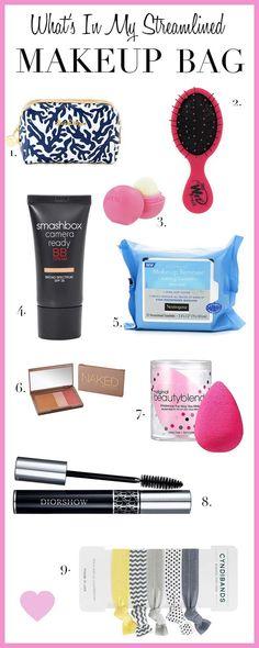 makeup bag essentials