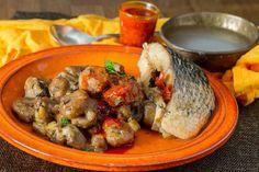 Plantain Porridge, Nigerian Food, Tilapia, Pot Roast, Palm Oil, Dishes, Meat, Chicken, Wedding Attire