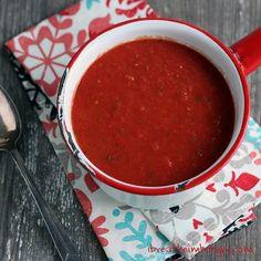 Easy #LowCarb #Keto friendly marinara sauce from mellissa sevigny at I Breathe I'm Hungry