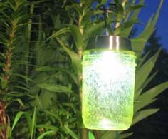 How To Make Magical Hanging Colored Solar Garden Lights
