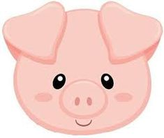 Imagen relacionada Farm Animal Birthday, Farm Birthday, Birthday Parties, Pig Party, Farm Party, Pig Crafts, Diy And Crafts, Farm Theme, Animal Faces