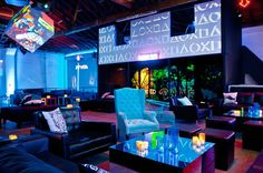 LED jungle wall video mapping - Google Search