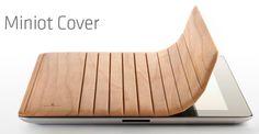 Das Smart Cover gibt es ja aus Polyurethan und Leder bei Apple zu kaufen. Der holländische Zubehörhersteller Miniot, der bereits für seine Holztaschen für iPhones und iPods bekannt ist, hat...