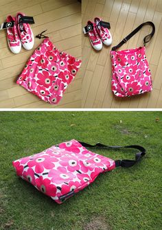 shoes bag remake shoulder bag!
