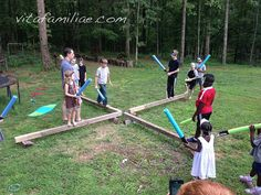 Great inexpensive party game ideas from vitafamiliae.com blog