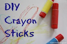 DIY Crayons: Crayon Activity {for Parents}