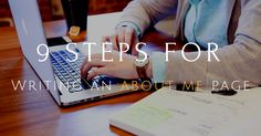 A 9 Step Guide for Writing an 'About Me' Page for your Blog  https://monetizepros.com/blogging/writing-an-about-me-page/?utm_campaign=crowdfire&utm_content=crowdfire&utm_medium=social&utm_source=pinterest  #OnlineEntrepreneur #About #Me #Page #Marketing