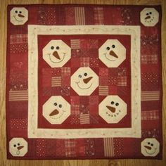 Snowball Bunch by Red Button Quilt Co.