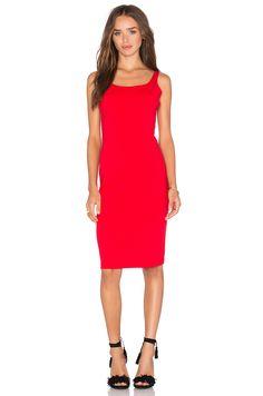 Susana Monaco Lyanna Dress in Perfect Red