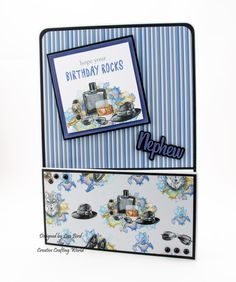 For Him Paper Collection With Male Relations, Occasion and Celebration Die Collection - Crafty Card Designs Masculine Birthday Cards, Masculine Cards, Fusion Card, Men's Cards, Sue Wilson, Card Designs, Die Cutting, It's Your Birthday, Colouring
