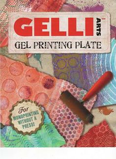 How to use Gelli plates.