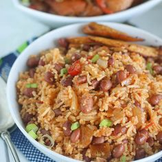 African Rice and Beans African Rice and Beans (Waakye). Rice and Beans African Rice and Beans (Waakye).African Rice and Beans (Waakye). West African Food, South African Recipes, Ethnic Recipes, Vegetarian Recipes, Cooking Recipes, Healthy Recipes, Rice Recipes, Nigeria Food, Caribbean Recipes