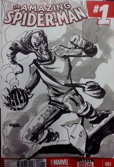 Green Goblin SketchCover from San Diego Comic-Con. #comics #marvel #spiderman