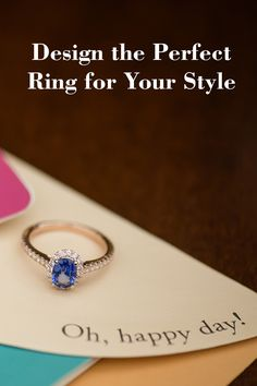 Still searching for your dream ring? Why not design it yourself?!