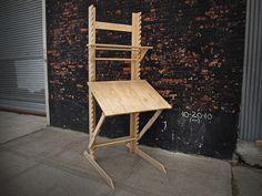 The Frey Desk. Desk, easel, drafting table!