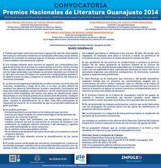 Premios Nacionales de Literatura Guanajuato 2014