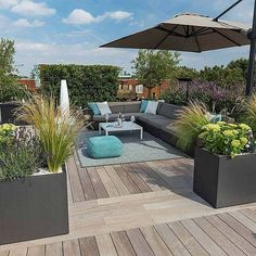 A rooftop garden can be a ton heavier than you believe. With some advice and tricks, the roof terrace becomes a true paradise! Because the roof terrace needs a totally different design than the balcony, you truly require a small… Continue Reading → Roof Terrace Design, Rooftop Design, Deck Design, Pergola Shade, Diy Pergola, Pergola Kits, Pergola Ideas, Cheap Pergola, Pergola Designs