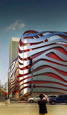 Amazing New Petersen Automotive Museum, Los Angeles