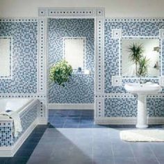 Venecitas en el baño