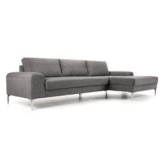 Dwell Oslo Reversible Corner Sofa Grey Fabric Pinterest And
