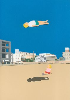 CHILDREN WONDER 01 by Takeru Toyokura, via Behance