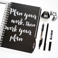 Finally, a planner to help you get the important things done. #Plan2016