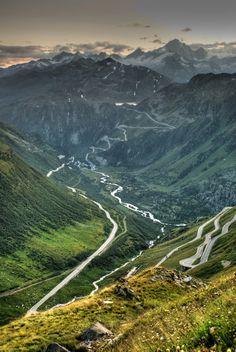 Grimsel Pass | Grimsel Pass xde la dikira bahaya sgt