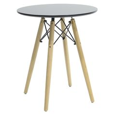 Round table Julita MDF top black F60 Tripod Lamp, Tables, Furniture, Top, Collection, Home Decor, Black, Mesas, Decoration Home