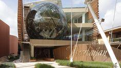 Expo 2015 - Azerbaijan Pavilion features Florim floor and wall tiles http://www.florim.it/en/2015/05/14/florim-protagonist-expo-2015-azerbaijan-treasure-biodiversity/  #expo2015 #pavilion #Azerbaijan #Simmetrico #design #Florim #floor #tiles #best practices  #Milan #architecture #padiglione #Azerbaigian #pavimento #piastrelle
