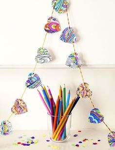Get Creative with Colouring Sheets : Artful Adventures