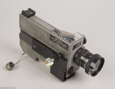 The 16mm camera and 10mm lens found in Mr. Neil Armstrong's hidden stash of Apollo 11 items shot astronauts descending to the lunar surface and planting the U.S. flag.