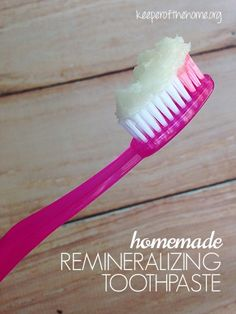 Rethinking Oral Health Care: A Homemade Toothpaste Recipe for Tooth Remineralization – Common oral care is treatment, but with this toothpaste you'll be more preventative!